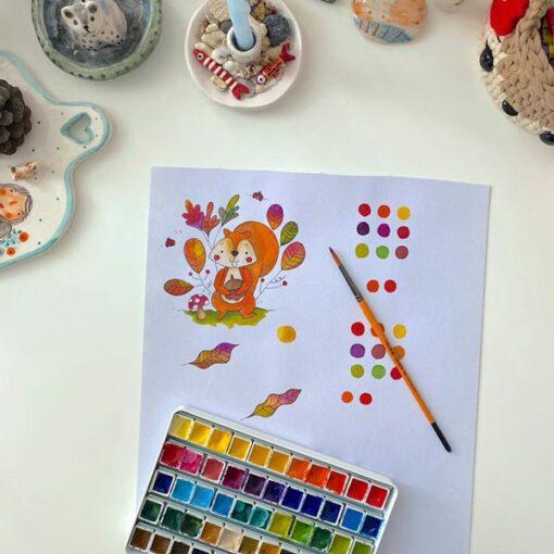 دوره آموزش خلاقیت و نقاشی کودک