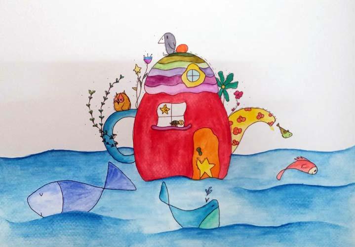 نمونه نقاشی کودکان
